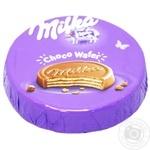 Вафли Milka Choco Wafer с молочным шоколадом 30г