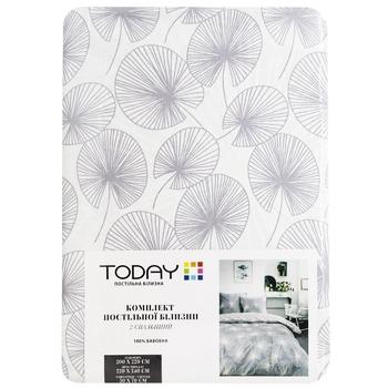 Комплект постельного белья Today Двухспальный - купить, цены на Метро - фото 1