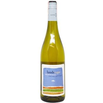 Вино The Capeography Co Landscape Гренаш Блан белое сухое 14,5% 0,75л