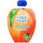 Пюре детское Чудо Чадо Персик без сахара 90г - купить, цены на Метро - фото 1
