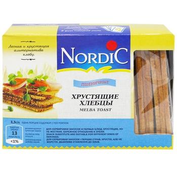 Хлібці Nordic зі злаків пшеничні 100г - купити, ціни на МегаМаркет - фото 1