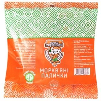 Carrot sticks Vovka Morkovka 450g - buy, prices for Auchan - image 1
