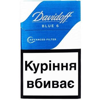 Davidoff Advanced Filter Blue 6 Cigarettes - buy, prices for Vostorg - photo 3