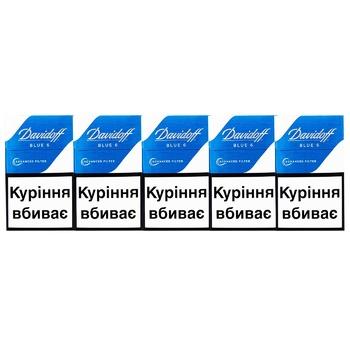 Davidoff Advanced Filter Blue 6 Cigarettes - buy, prices for Vostorg - photo 2