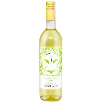 Вино Lion's Land Шардоне белое сухое 10% 0,75л