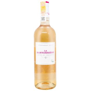Вино La Santonniere Cotes De Provence розовое сухое 13% 0,75л