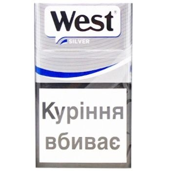 West silver сигареты купить как зарядить одноразовую электронную сигарету steam