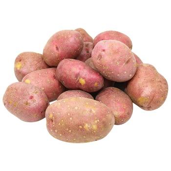 Картофель мытый розовый