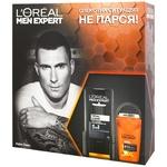Набір L'Oreal Paris Men Expert дезодорант-антиперспирант для тіла кульковий Термозахист 50мл+гель для душу Total Clean 5в1 300мл