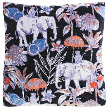 Подушка Tarrington House декоративная синяя 45Х45см