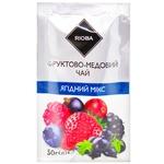 Чай фруктово-медовый Rioba концентрат Ягодный микс 50г