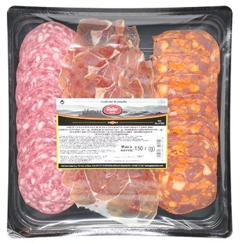 Galar Slicing Chorizo, Jamon, Salchichon 150g