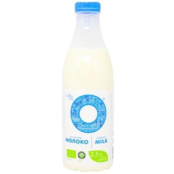 Молоко Органік Мілк органічне 2.5% 1000г - купити, ціни на CітіМаркет - фото 1