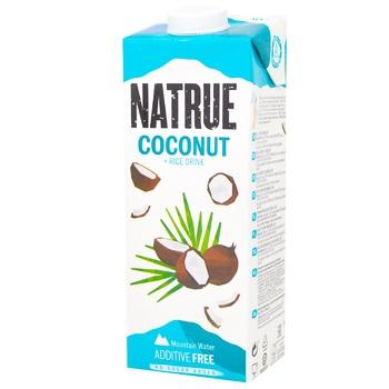 Напиток рисово-кокосовый Natrue Rice+Coconut без добавления сахара 2% 1л - купить, цены на Восторг - фото 1