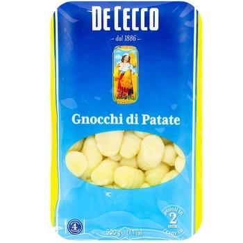Картопляні ньоккі De Cecco 500г - купити, ціни на Метро - фото 1