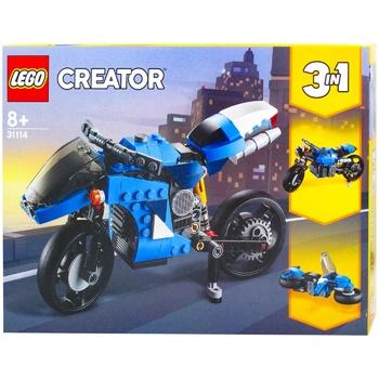 Конструктор Lego Creator Супермотоцикл