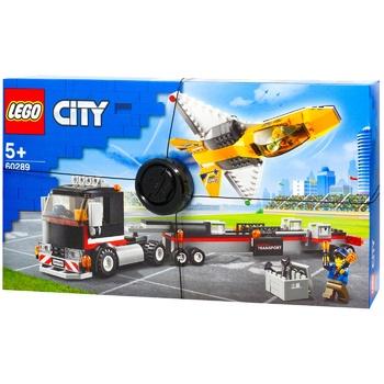 Конструктор Lego City Транспортер каскадерського літака - купити, ціни на Ашан - фото 1