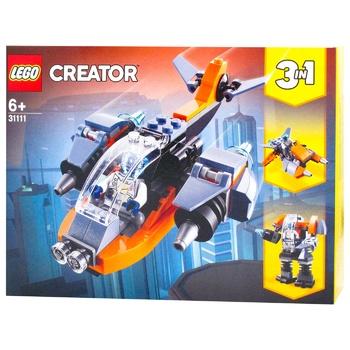 Конструктор Lego Creator Кібердрон - купити, ціни на Ашан - фото 1