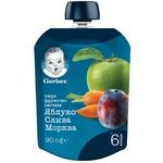 Gerber for children apple-plum puree 90g