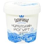 Galychyna Carpathian Sugar-Free Yogurt 3% 1kg