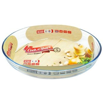 Pyrex Cook n'Share Form for baking of heat-resistant glass oval 30X21cm 2l - buy, prices for Metro - photo 1