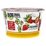 Десерт Bob Snail на кокосовом креме клубника 180г