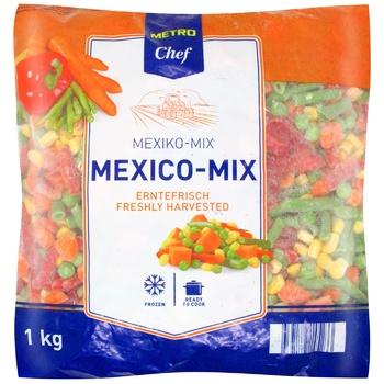 Metro Chef Frozen Mexican Mix 1kg