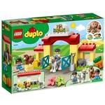 Конструктор Lego Duplo Стайня і догляд за поні