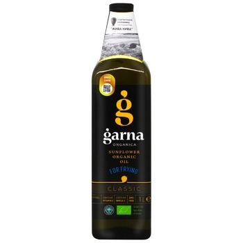 Garna Sunflower oil refined deodorized frozen organic brand P 1l
