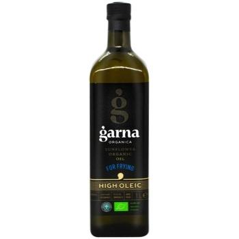 Garna Sunflower oil high-oleic refined deodorized frozen organic 1l