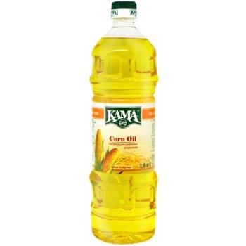 Олія Кама кукурудзяна рафінована дезодорована 1л