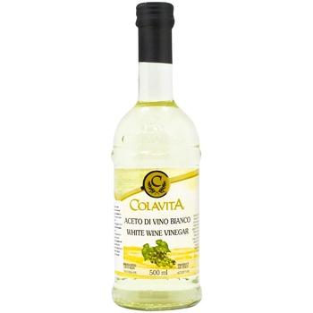 Уксус Colavita белый винный 6% 500мл - купить, цены на Метро - фото 1