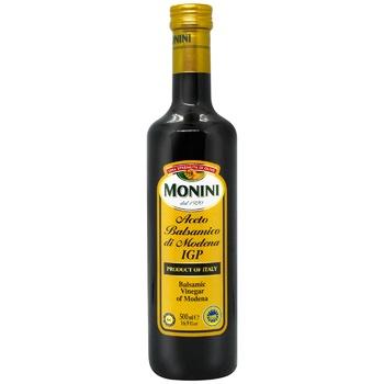 Оцет бальзамічний Monini з Модени 6% 500мл