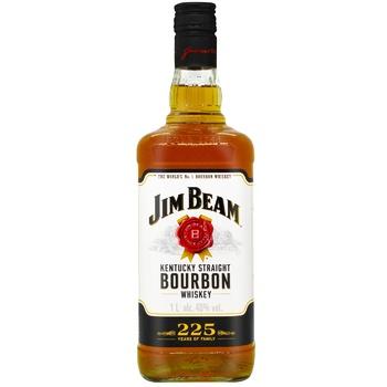Віскі Jim Beam White Bourbon 40% 1л