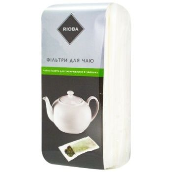 Rioba Filters for Tea Brewing 70х170mm 200pcs