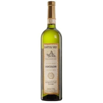 Kartuli Vazi Alazan Valley Semi-Sweet White Wine