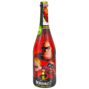 Шампанське дитяче Суперсімейка Яблуко 0,75л - купити, ціни на CітіМаркет - фото 1