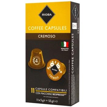 Rioba Nespresso Cremoso Coffee in Capsules 10pcs X5g