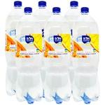 Вода минеральная Бон Буассон с соком безалкогольная сильногазированная Апельсин-грейпфрут 2л