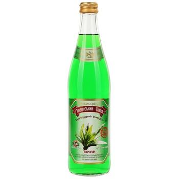 Gruzynskyi Buket Tarragon Carbonated Drink 0,5l