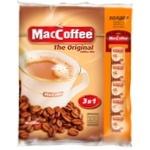 Напій кавовий MacCoffee Original 3в1 розчинний 110х20г