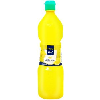 Metro Chef Concentrated Lemon Juice 380ml