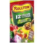 Приправа Роллтон універсальна 12 овочів та травв гранулах 200г