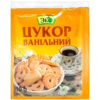 Eko Vanilla Sugar 10g - buy, prices for CityMarket - photo 1