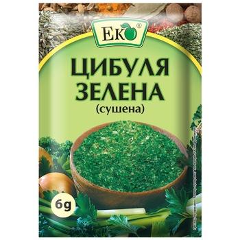 Цибуля Еко зелена сушена 6г - купити, ціни на ЕКО Маркет - фото 1