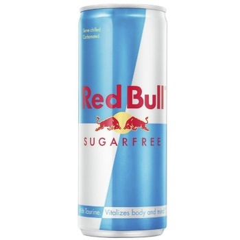 Напій енергетичний Red Bull без цукру 0,25л