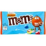Драже M&M`s Salted Caramel  с молочным шоколаде в разноцветной глазурью 36г