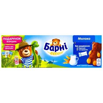 Пирожное Медвежонок Барни бисквитное с молочной начинкой 150г - купить, цены на Ашан - фото 2