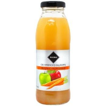 Rioba Juice direct extraction Apple-carrot 0,3l - buy, prices for Metro - photo 1