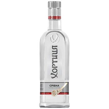 Горілка Хортиця Срібна прохолода 40% 375мл - купити, ціни на CітіМаркет - фото 5